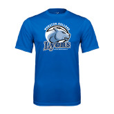 Syntrel Performance Royal Tee-Wheaton College Lyons - Lyon Head