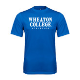Syntrel Performance Royal Tee-Wheaton College Athletics