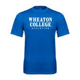 Syntrel Performance Royal Tee-Wheaton College Athletics