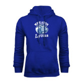 Royal Fleece Hoodie-Wheaton Lyons - Official Logo