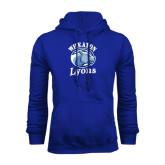 Royal Fleece Hoodie-Wheaton Lyons - Official Logo