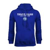 Royal Fleece Hoodie-Lacrosse w/ Lyon Head