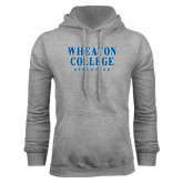 Grey Fleece Hoodie-Wheaton College Athletics