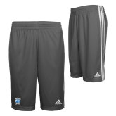 Adidas Climalite Charcoal Practice Short-Wheaton Lyons - Official Logo