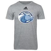 Adidas Sport Grey Logo T Shirt-Lyon Head