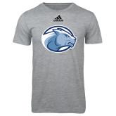 Adidas Sport Grey Logo T Shirt-Lyon Head