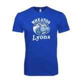 Next Level SoftStyle Royal T Shirt-Wheaton Lyons - Official Logo