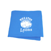 Light Blue Sweatshirt Blanket-Wheaton Lyons - Official Logo