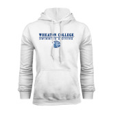 White Fleece Hoodie-Swimming and Diving w/ Lyon Head