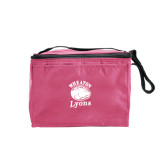 Six Pack Pink Cooler-Wheaton Lyons - Official Logo