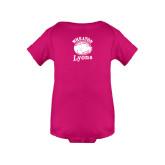 Fuchsia Infant Onesie-Wheaton Lyons - Official Logo