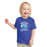 Toddler Royal T Shirt-Wheaton Lyons - Official Logo