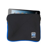 Neoprene Black w/Royal Trim Zippered Tablet Sleeve-Wheaton Lyons - Official Logo