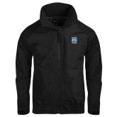 Black Charger Jacket-Wheaton College - Lyon Head