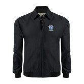 Black Players Jacket-Wheaton Lyons - Official Logo