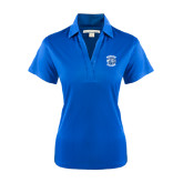 Ladies Royal Performance Fine Jacquard Polo-Wheaton College - Lyon Head