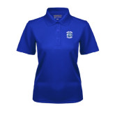 Ladies Royal Dry Mesh Polo-Wheaton College - Lyon Head