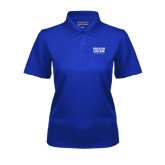 Ladies Royal Dry Mesh Polo-Wheaton College Athletics