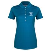 Ladies Callaway Opti Vent Sapphire Blue Polo-Wheaton Lyons - Official Logo