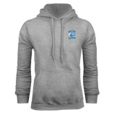 Grey Fleece Hoodie-Wheaton Lyons - Official Logo