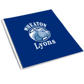 College Spiral Notebook w/Clear Coil-Wheaton Lyons - Official Logo
