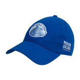 College Royal Twill Unstructured Low Profile Hat-Lyon Head