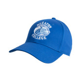 College Royal Heavyweight Twill Pro Style Hat-Wheaton College - Lyon Head
