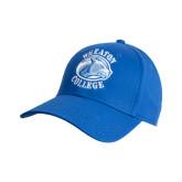 College Royal Heavyweight Twill Pro Style Hat-Wheaton College - Lyon Head
