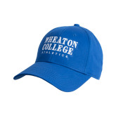 College Royal Heavyweight Twill Pro Style Hat-Wheaton College Athletics