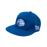 College Royal OttoFlex Flat Bill Pro Style Hat-Lyon Head