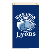 3 ft x 5 ft Flag-Wheaton Lyons - Official Logo