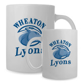 Full Color White Mug 15oz-Wheaton Lyons - Official Logo