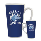 Full Color Latte Mug 17oz-Wheaton Lyons - Official Logo