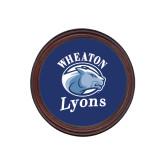 Round Coaster Frame w/Insert-Wheaton Lyons - Official Logo