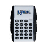 White Flip Cover Calculator-Wheaton College Lyons Wordmark