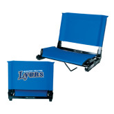 Stadium Chair Royal-Wheaton College Lyons Wordmark
