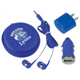 3 in 1 Royal Audio Travel Kit-Wheaton Lyons - Official Logo