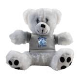 Plush Big Paw 8 1/2 inch White Bear w/Grey Shirt-Wheaton Lyons - Official Logo