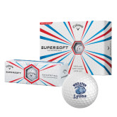 Callaway Supersoft Golf Balls 12/pkg-Wheaton Lyons - Official Logo