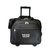 Embassy Plus Rolling Black Compu Brief-Wheaton College Athletics