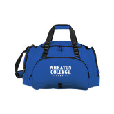 Challenger Team Royal Sport Bag-Wheaton College Athletics