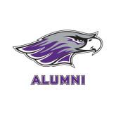 Alumni Decal-Warhawk Head, 6 inches wide