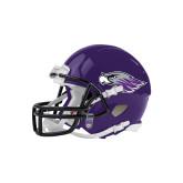 Riddell Replica Purple Mini Helmet-Warhawk Head