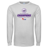 White Long Sleeve T Shirt-WIAC 2017 Womens Golf Champions