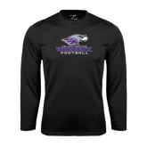 Syntrel Performance Black Longsleeve Shirt-Football