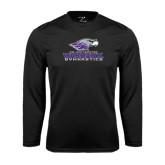 Syntrel Performance Black Longsleeve Shirt-Gymnastics