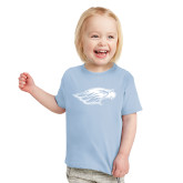 Toddler Light Blue T Shirt-Warhawk Head