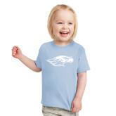 Toddler Light Blue T Shirt-Warhawk Head