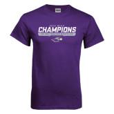 Purple T Shirt-2016 WIAC Champions Wrestling