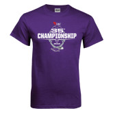 Purple T Shirt-35th WIAC Championship - Football 2016